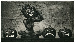 'Medusa and the Pumpkins'