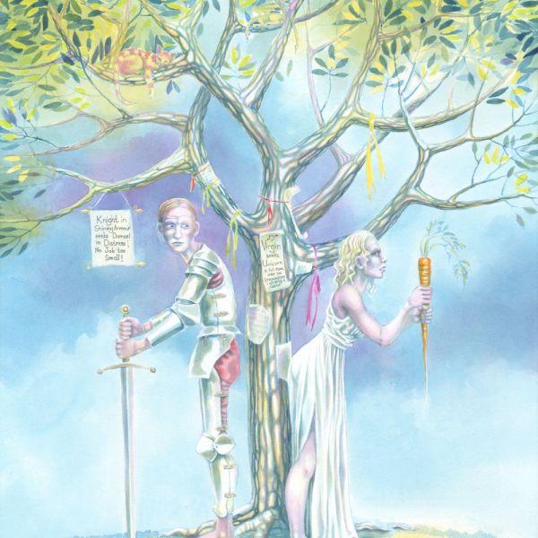 Under the Greenwood Tree, Nancy Farmer, watercolour, 2015