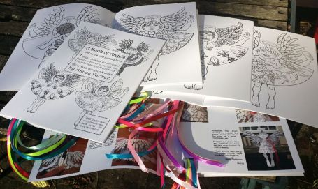 A Book of Angels - colouring-in book for Adults