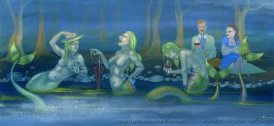 A Romantic Picnic, Spoiled By Mermaids