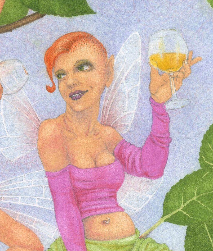 Cider Apple Fairies - detail 4