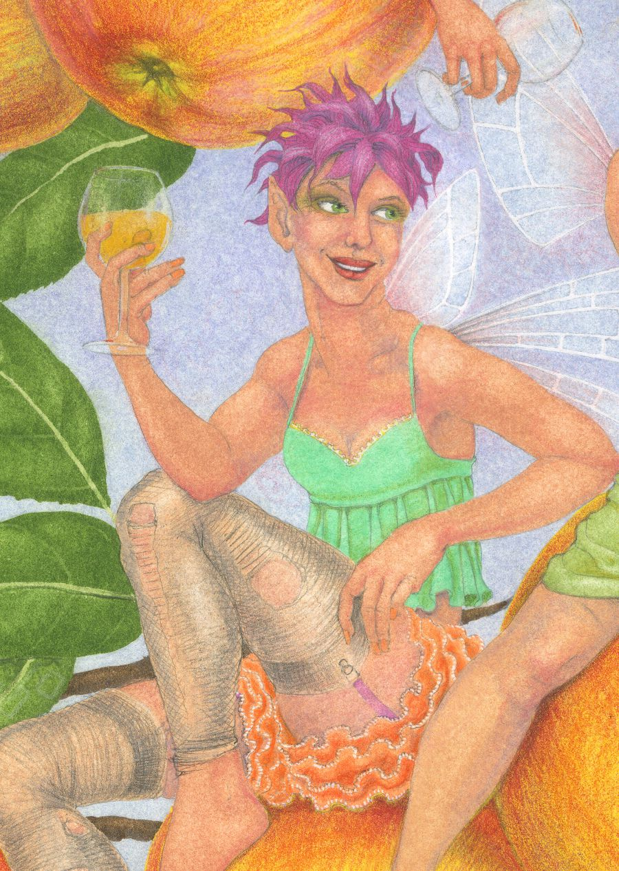 Cider Apple Fairies - detail 5