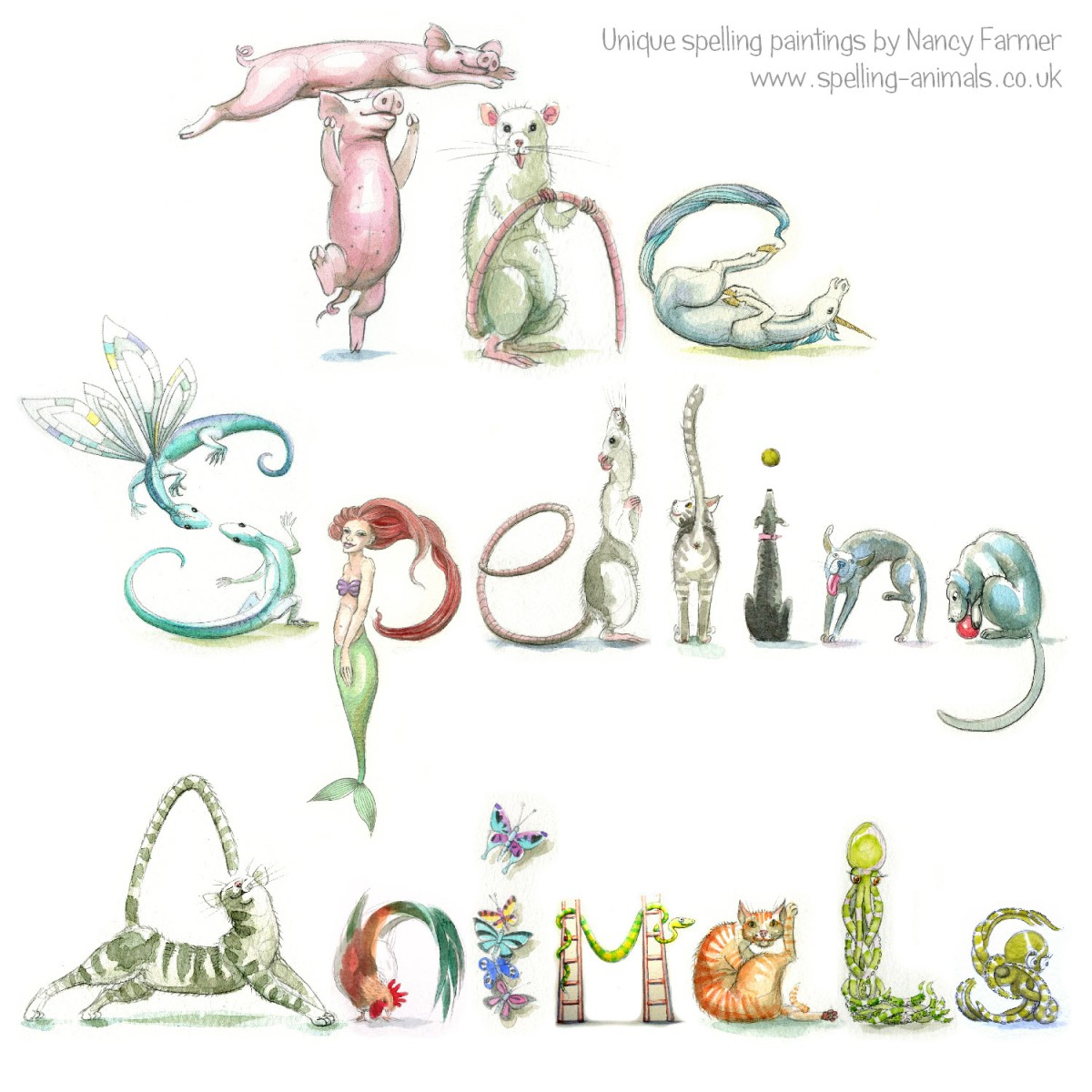 The Spelling Animals - flier
