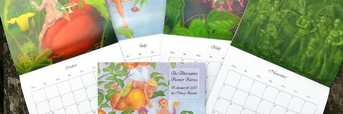 The Alternative Flower Fairies, a calendar for 1027