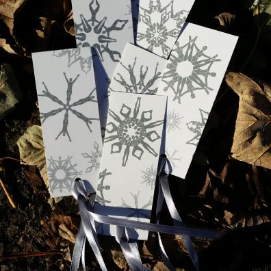 Silver gift tags