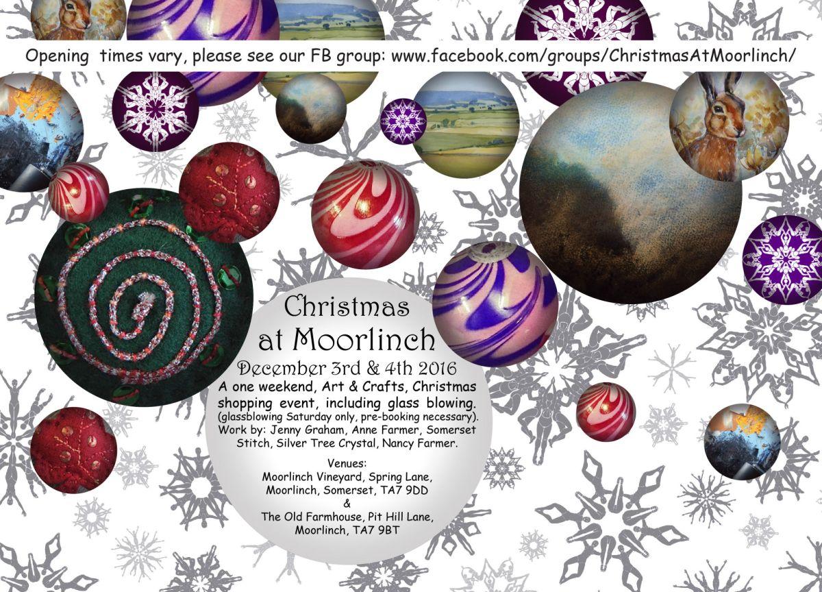Christmas at Moorlinch - flier