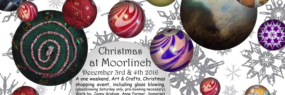 Christmas at Moorlinch - flier