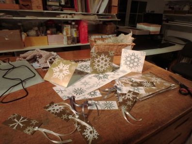 Card and tag samples