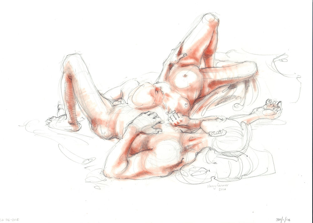 Life Drawing in Pencil & Pastel