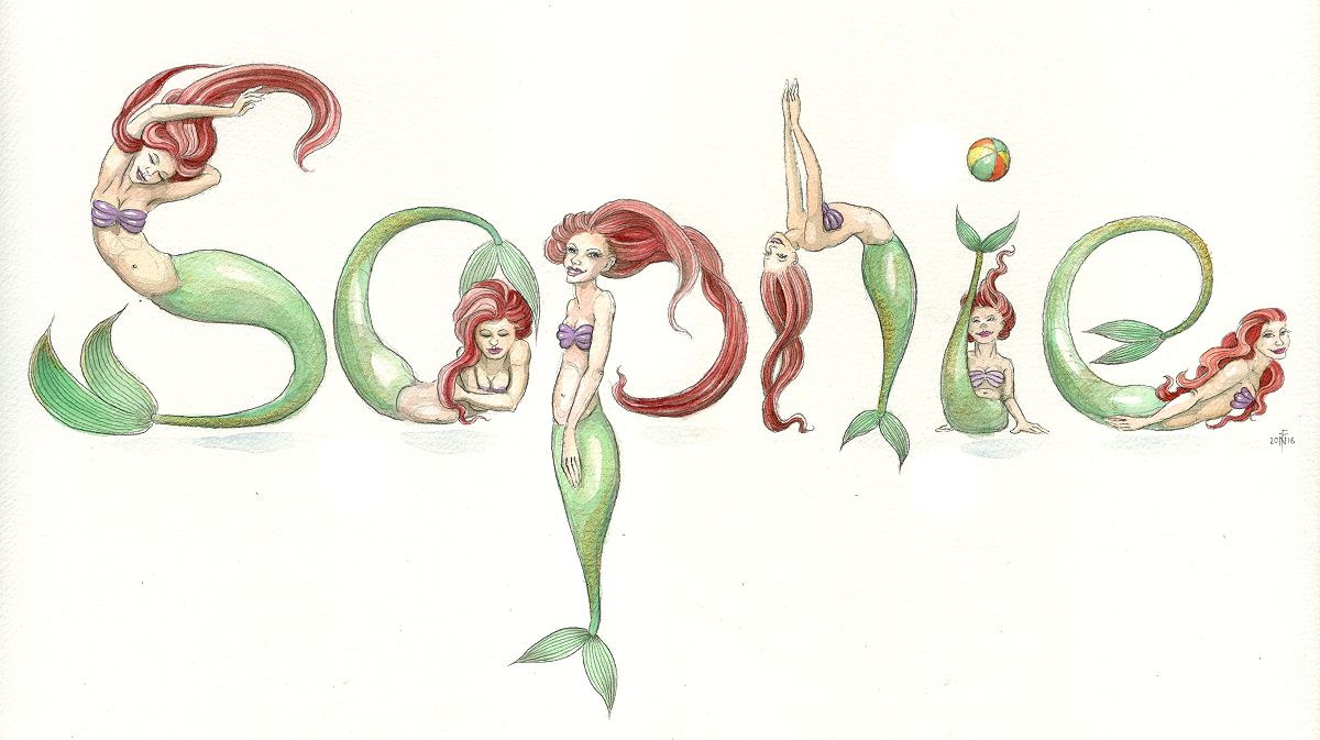 Spelling Mermaids