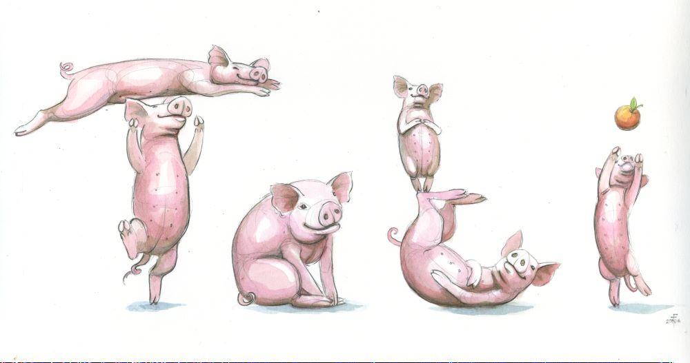 Spelling Pigs