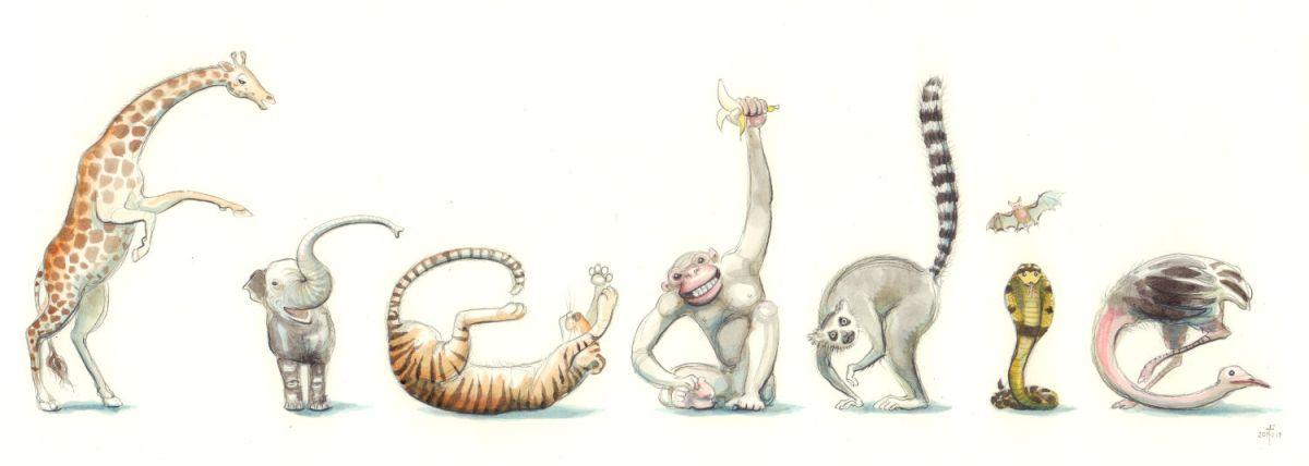 'Freddie' in zoo animals