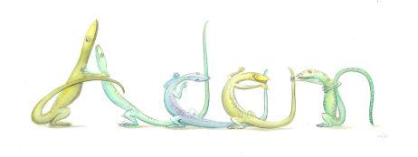 'Adam' in lizards